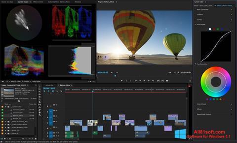 Screenshot Adobe Premiere Pro per Windows 8.1