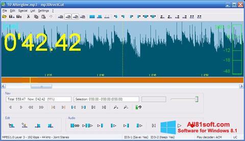 Screenshot mp3DirectCut per Windows 8.1