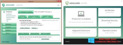 Screenshot Adguard per Windows 8.1