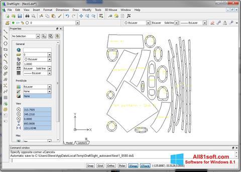 Screenshot DraftSight per Windows 8.1