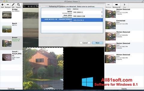 Screenshot IP Camera Viewer per Windows 8.1