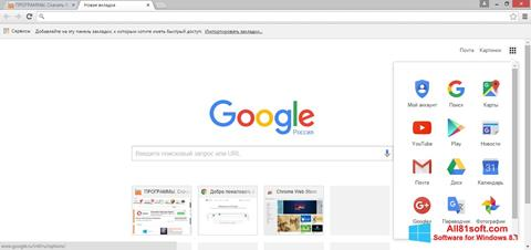 Screenshot Google Chrome per Windows 8.1