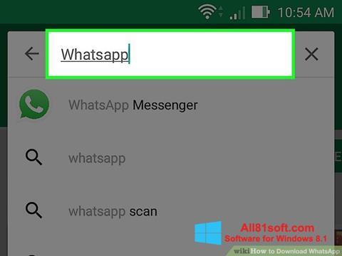 Screenshot WhatsApp per Windows 8.1